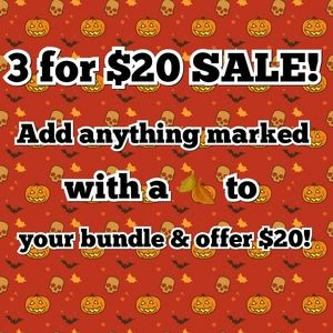 🍂3 for $20 SALE!